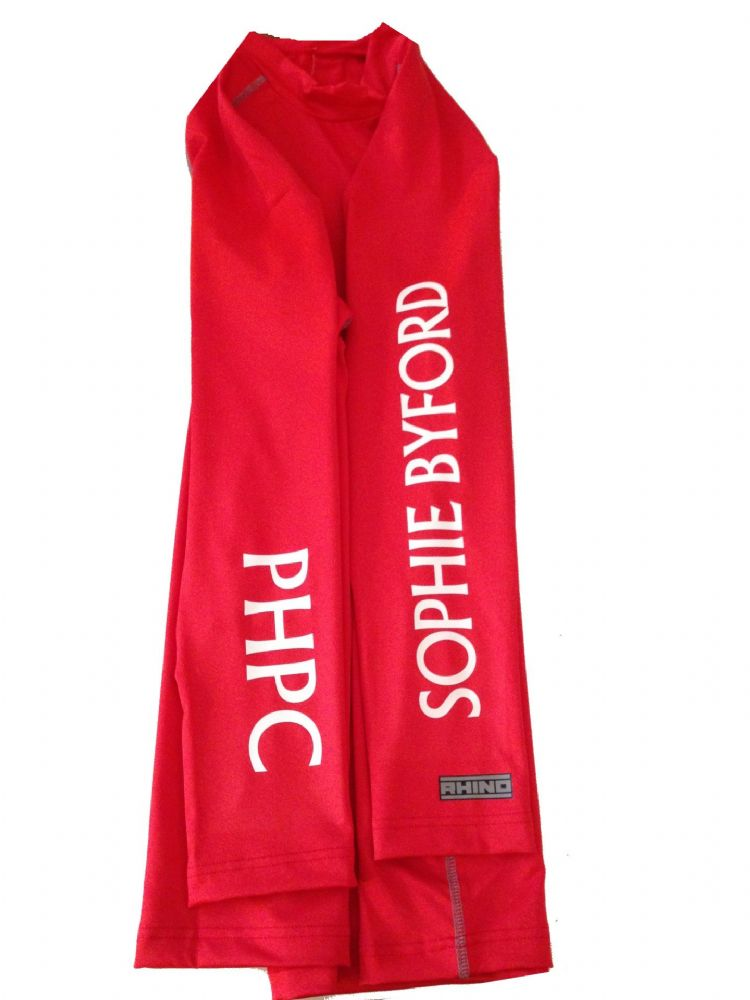 Childrens Puckeridge Pony Club Red Base Layer